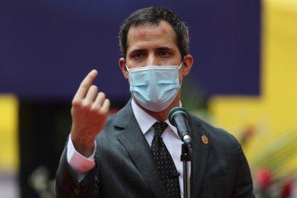 Juan Guaidó (EFE/Miguel Gutiérrez/Archivo)