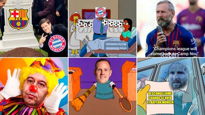 Los Memes De La Goleada Historica Del Bayern Munich Sobre Barcelona En La Champions League Infobae