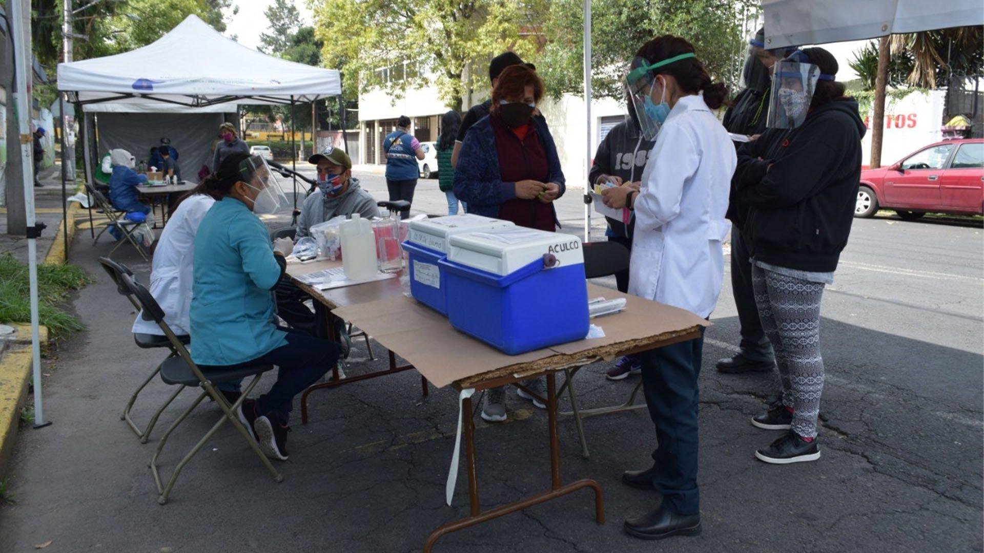 Quioscos de salud (Foto: Gobierno de la Ciudad de México)