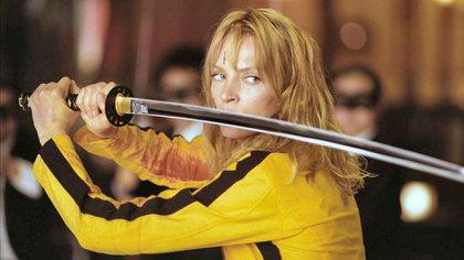 """Una Thurman en """"Kill Bill"""" de Quentin Tarantino"""