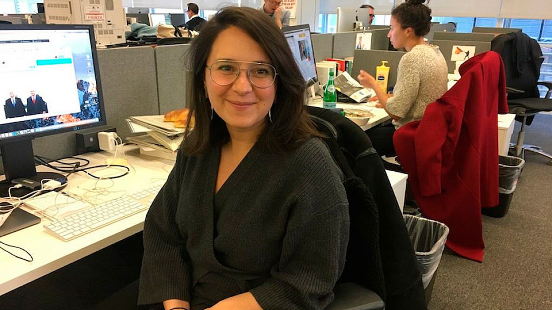 Bari Weiss , editora de The New York Times