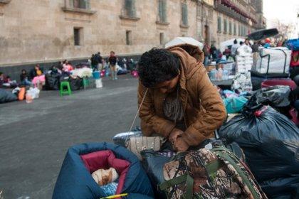Los desplazados sufren estigma luego de salir huyendo de su lugar de origen pues se les asocia con grupos delictivos (FOTO: GALO CAÑAS /CUARTOSCURO.COM)
