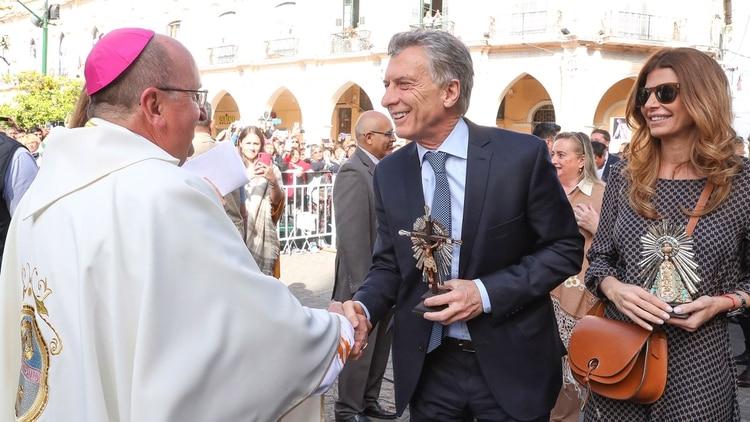 El Arzobispo hizo una reflexión sobre la pobreza (Presidencia de la Nación)