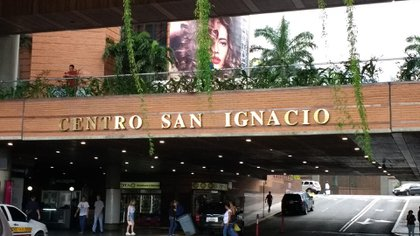 El Centro Comercial San Ignacio, donde se encuentra la nueva sede la la Embajada Argentina en Caracas