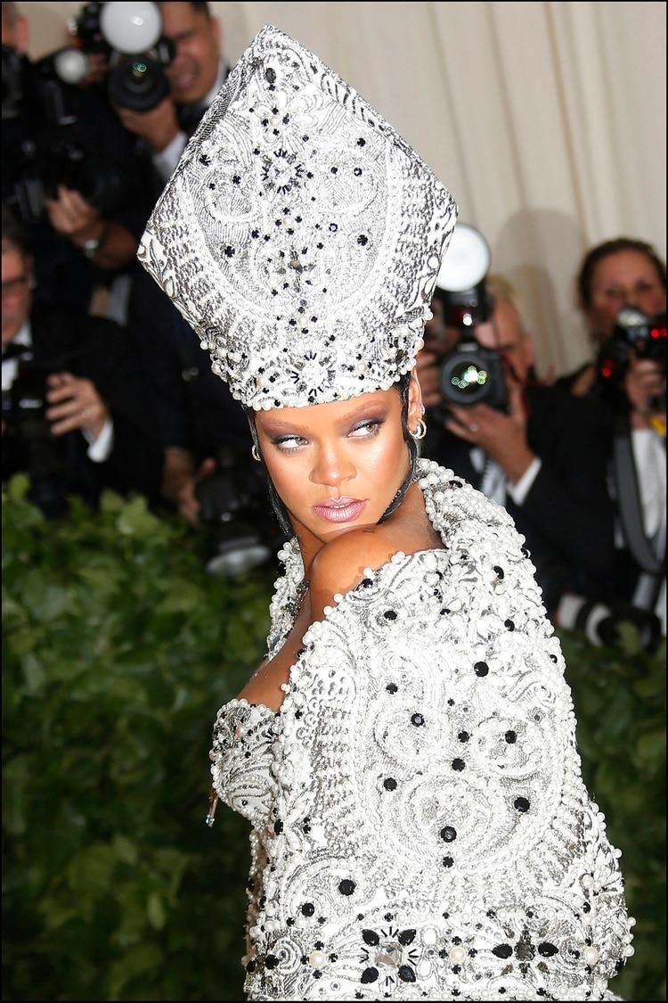 Rihanna en la gala del Met, 2018
