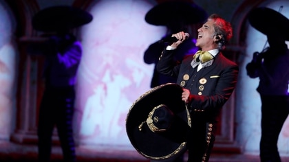 Alejandro Fernández en Las Vegas (Foto: Reuters / Steve Marcus)