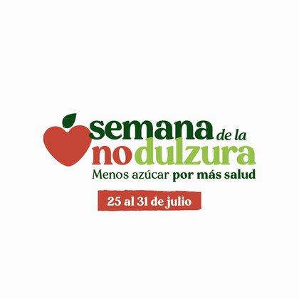 En la segunda edición de la semana de la NO dulzura, se busca alertar sobre el consumo de azúzar y más en tiempos de cuarentena y confinamiento