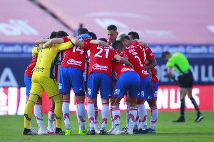 Los colchoneros perdieron por 1-2 ante Monterrey este domingo (Foto: Cortesía/ Atlético de San Luis/ Cesar Gomez/ JAM MEDIA)