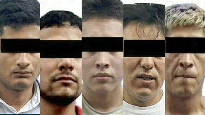 Fueron arrestados por policías de la Secretaría de Seguridad Ciudadana (SSC) cuando presuntamente vendían narcóticos (Foto: Fiscalía General de Justicia)