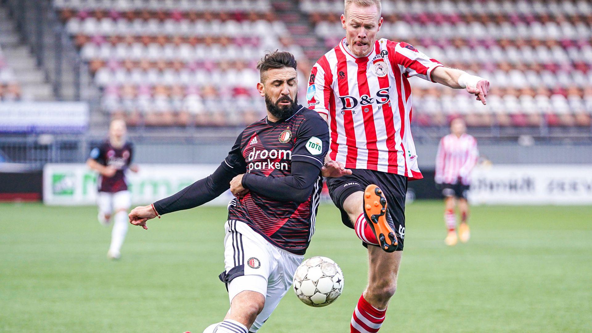 Debut de Lucas Pratto en el Feyenoord