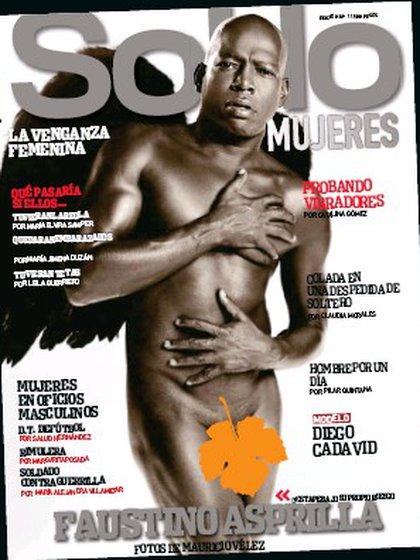 Faustino Asprilla en la revista SoHo