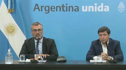 Alejandro Vanoli y Daniel Arroyo