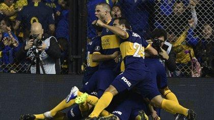 Boca Juniors venció al Atlético Paranaense en la Bombonera