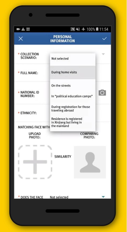 Las autoridades emplean un sistema llamado Plataforma Integrada de Operaciones Conjuntas (IJOP, por sus siglas en inglés) para cargar, en una base de datos, información sobre personas que consideran potencialmente una amenaza.