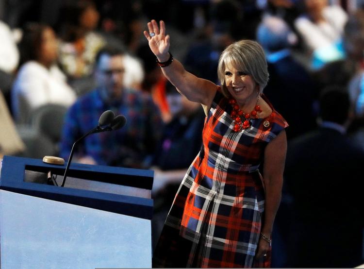 La representante Michelle Lujan Grisham (REUTERS/Scott Audette)
