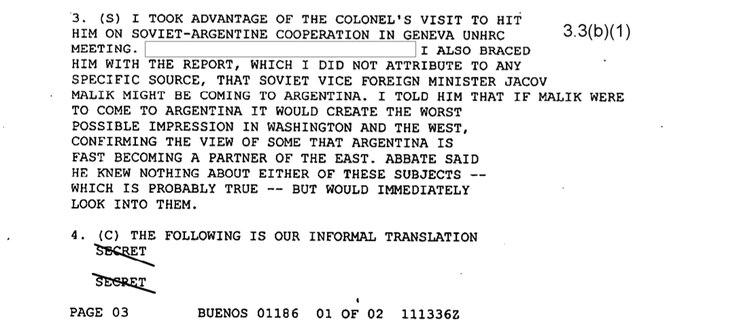 """El informe que anuncia la posible visita del vice ministro de Relaciones Exteriores soviético Malik Might: """"Eso crearía la peor impresión en Washington y Occidente"""""""