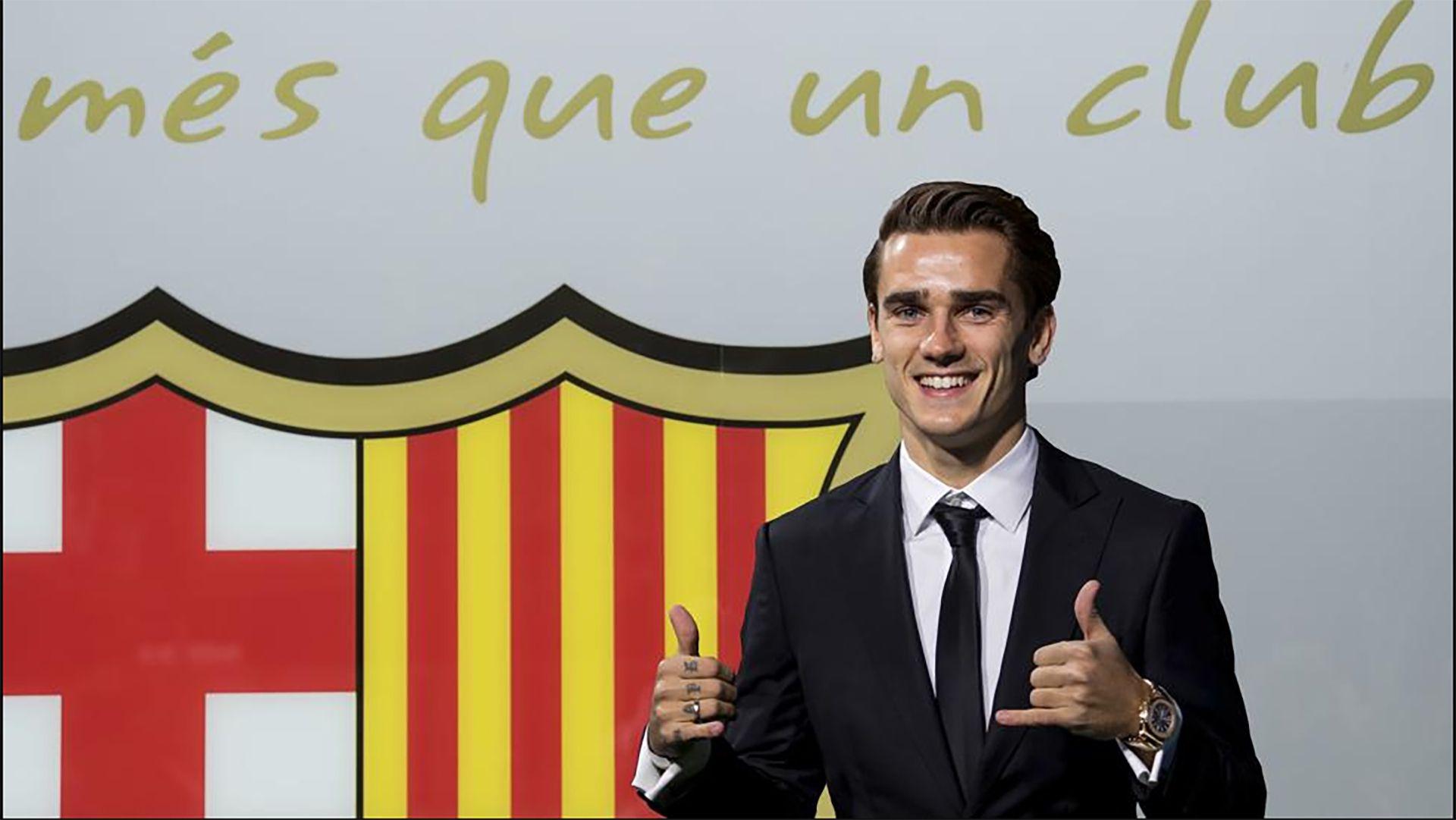 Griezmann es oficialmente jugador del Barcelona