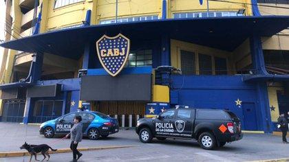 El operativo contará con un número inédito de 2.300 policías (Foto: @EmilianoRaddi)