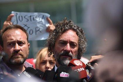 Fabián Améndola, abogado de la familia de Fernando Báez Sosa (Diego Medina)