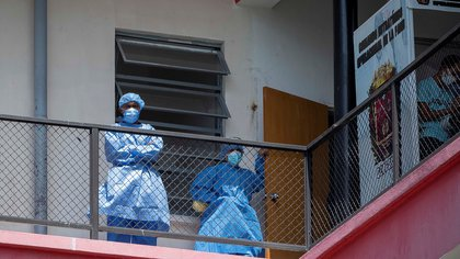 """Médicos Unidos alertó que Venezuela """"se queda sin sanitarios"""" por las muertes por COVID-19"""