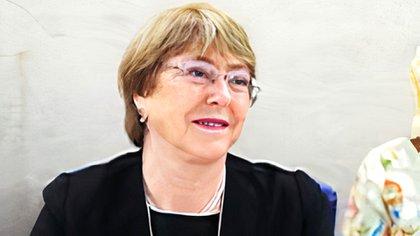 Michelle Bachelet, ancienne présidente du Chili