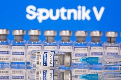 Vacuna Sputnik V fabricada por el laboratorio Gamaleya de Moscú.