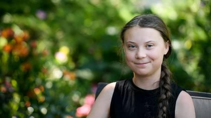 Greta Thunberg continúa su campaña contra el cambio climático (AFP)