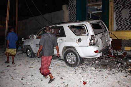 Autoridades remarcaron que la explosión provocó grandes daños en la zona (EFE)