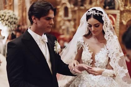 Ximena y Valladares se casaron el 1 de abril de 2017 (Instagram: ximenanr)