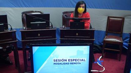 Laura Rodríguez Machado, senadora por Córdoba