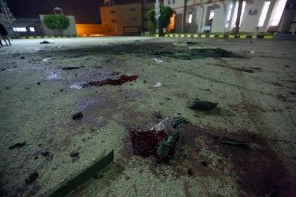 Ataque en una escuela militar en Trípoli (Mahmud TURKIA / AFP)