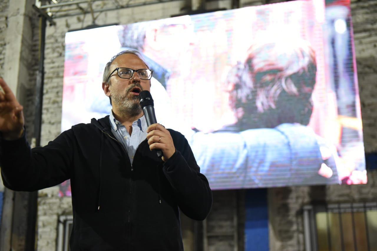 El intendente reelecto de Tres de Febrero, Diego Valenzuela