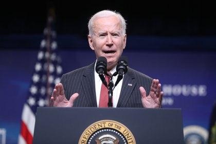 El presidente de Estados Unidos Joe Biden (Foto: EFE)