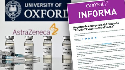 La ANMAT aprobó el uso de emergencia de la vacuna de Oxford Aztrazeneca para su aplicación en la Argentina