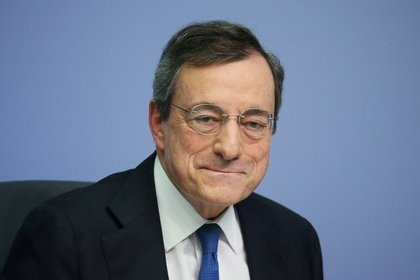 El ex presidente del banco central Mario Draghi (REUTERS/Ralph Orlowski/archivo)