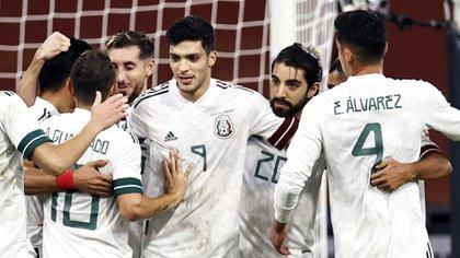 México escaló posiciones y se metió al Top 10 de las mejores selecciones del mundo (Foto: Maurice Van Steen/ AFP/ ANP)