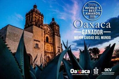 La ciudad de Oaxaca se coronó como la mejor ciudad turística (Foto: Archivo)
