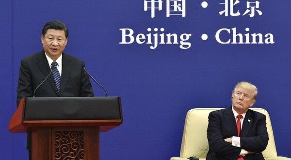 """El gobierno chino dijo que """"para defender los intereses del país y su población se ha visto forzado a realizar los contraataques necesarios"""" (AP)"""