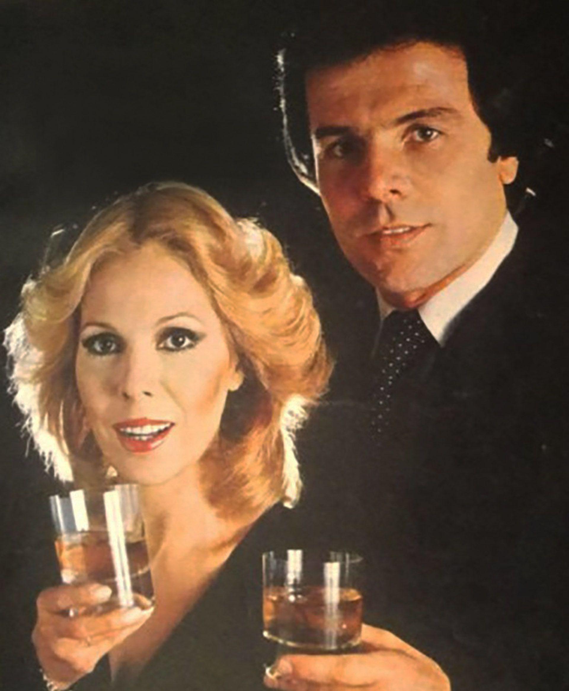 Nélida Lobato y Víctor Laplace, en una publicidad