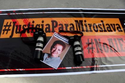 Era la mañana del 23 de marzo del 2017, Miroslava Breach fue asesinada con ocho disparos de arma de fuego (Foto: Cuartoscuro)