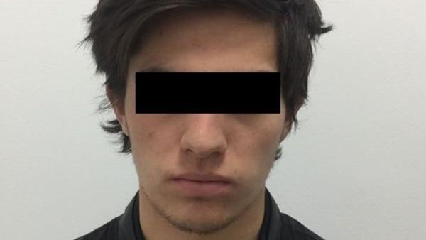 La foto que difundió la fiscalía de Chihuahua de Loera tras su detención