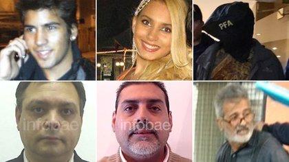 Todos los detenidos del caso