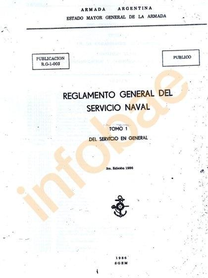 Uno de los reglamentos que ya está en manos de la jueza Marta Yáñez