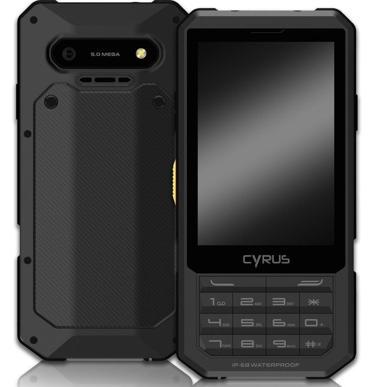El celular combina un teclado físico con otro virtual que se despliega sobre el display de 3,5 pulgadas y que cuenta con una resolución de 132 ppi.