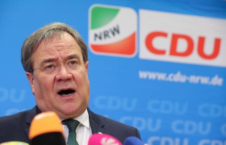 Armin Laschet, presidente de Renania del Norte-Westfalia y aspirante a suceder a AKK (REUTERS/Wolfgang Rattay)