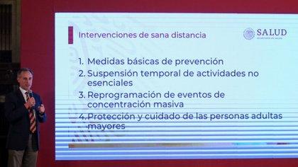 Estas son las medidas básicas para la Jornada Nacional de Sana Distancia (Foto: Galo Cañas/ Cuartoscuro)