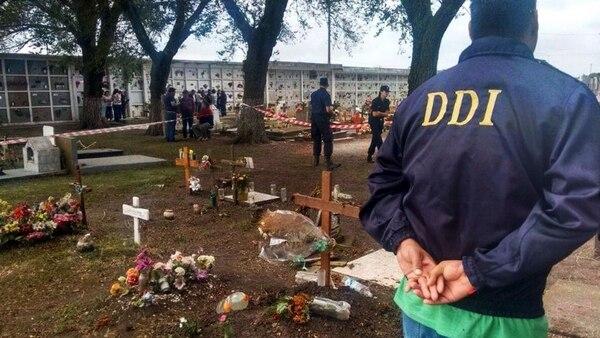 El cementerio de Otamendi (0223.com.ar)