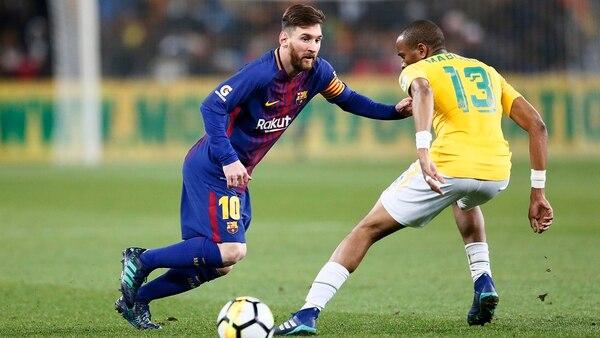 Messi ha dejado de ser tan explosivo y se ha transformado en un asistidor (AFP)