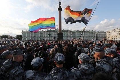 La Marcha del Orgullo suele sufrir represión en el país (Reuters/archivo)