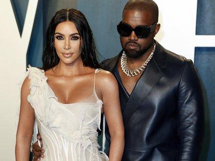 Kardashian solicitó el divorcio de West (Foto: EFE/Ringo Chiu)